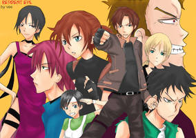 REsident EVil family by ABping