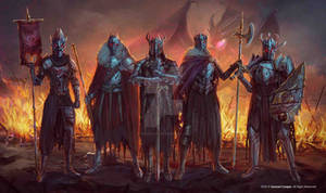 (Commission) The Crimson War Death Knight