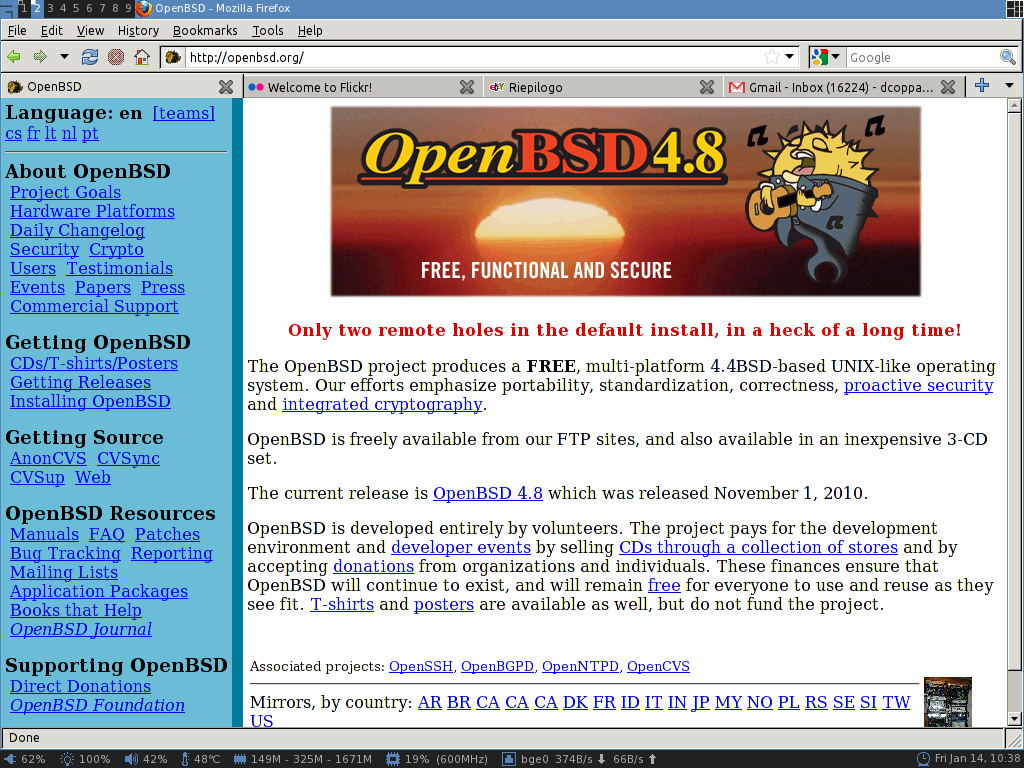 OpenBSD with awesome v3 4 8 by dcoppa on DeviantArt