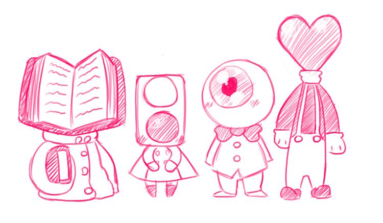 Object Heads by ZachLazymoth Object Heads
