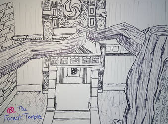 Linktober 2020 Day 17 Temple