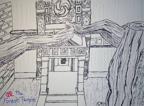 Linktober 2020 Day 17 Temple