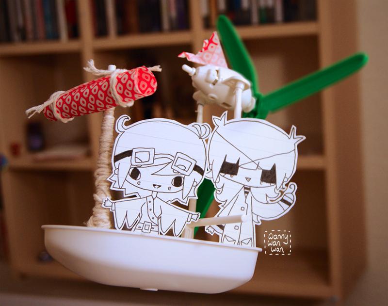 Sky Pirates! by wannywanwan