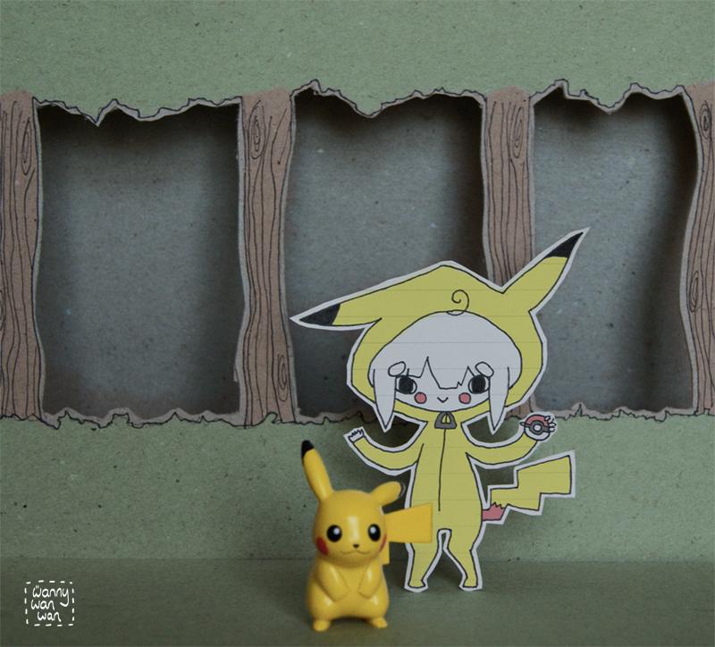 Poke Kid wants to battle! by wannywanwan