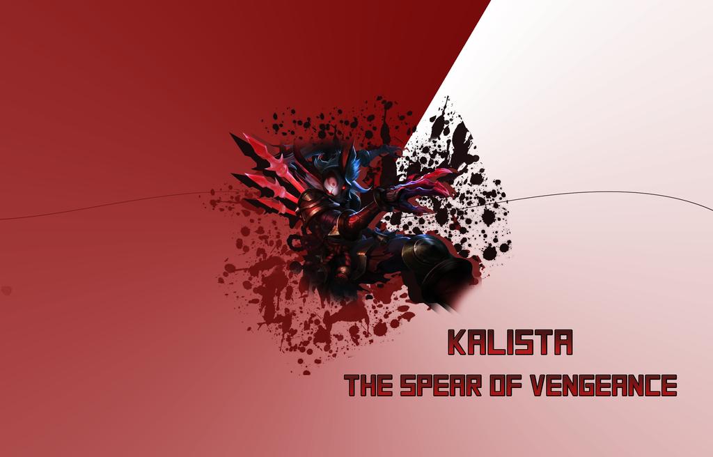 Kalista Wallpaper by T-Taigo