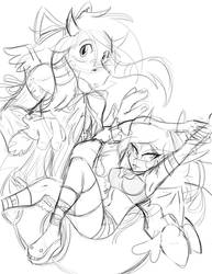 WoW Eh - Disgaea Print preview by Cadychan