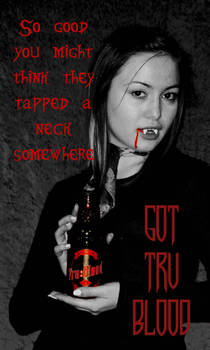 Tru Blood Vampire Ad 01