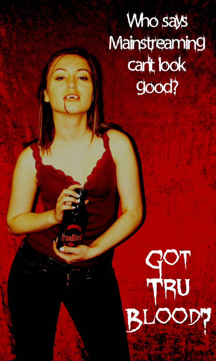 Tru Blood Vampire Ad 02 by MSundinPhotography