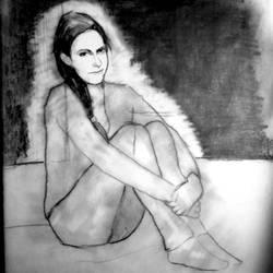 Molly Hooper Ghost - WIP by filmshirley