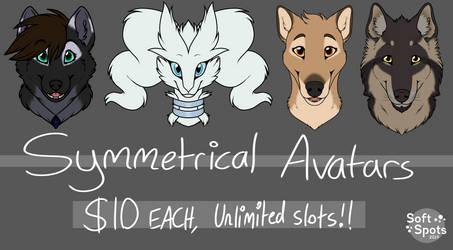 $10 Symmetrical Avatars!!!