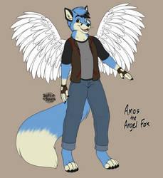 Amos the Angel Fox (Redraw)