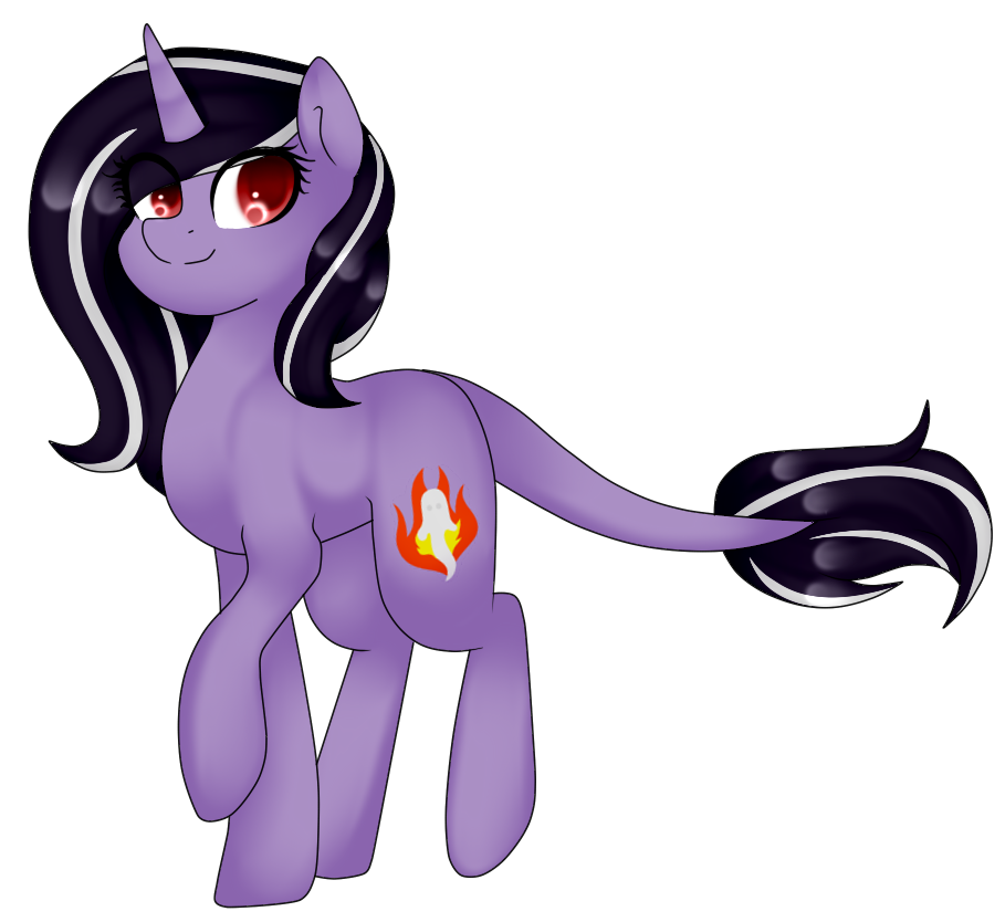 [Commission] Lilac Fire by TheCreativeRey
