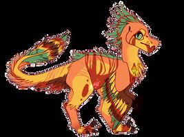 'piggy back shantungosaurus' by PennyQuest