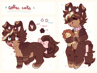 + coffee cake + by LeopardieWolf
