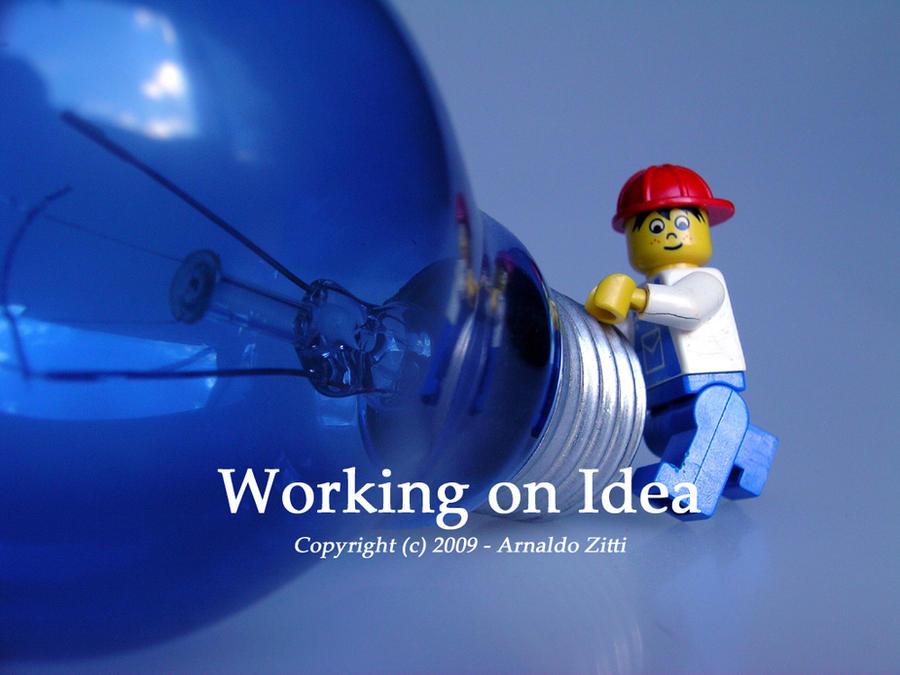 Working on Idea