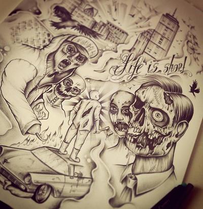 Zombie Apocalyse by EdwardMiller