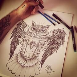 C x I x D Owl Wings