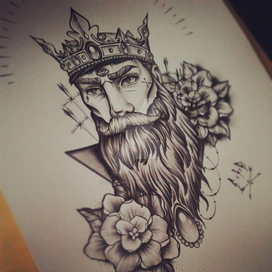 C x I x D Beardman / Crown by EdwardMiller