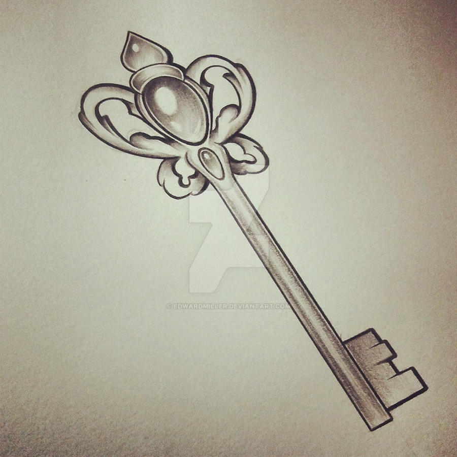 D Line Drawings Key : C i d key by edwardmiller on deviantart