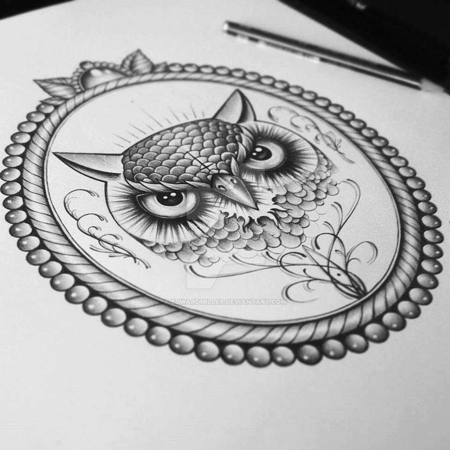Owl Frame by EdwardMiller on DeviantArt