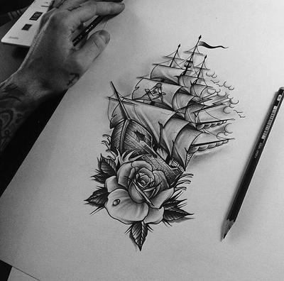 Ship Rose by EdwardMiller