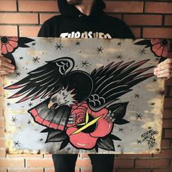 Eagle Rose by EdwardMiller