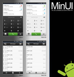 MinUI for GO Contacts EX and GO SMS Pro