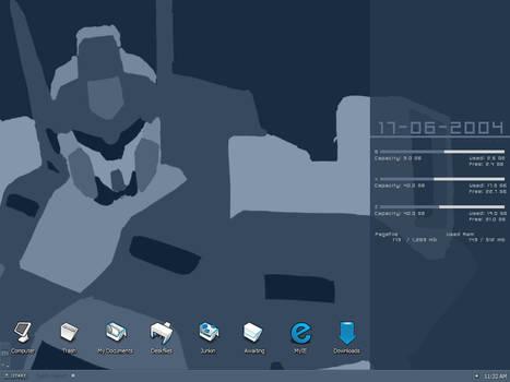 My desktop June to July?