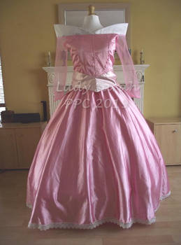 Commission Test Run: Disney's Aurora (Pink Gown)