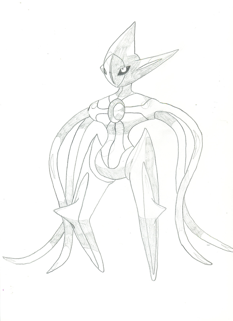 deoxys maze coloring pages - photo#19