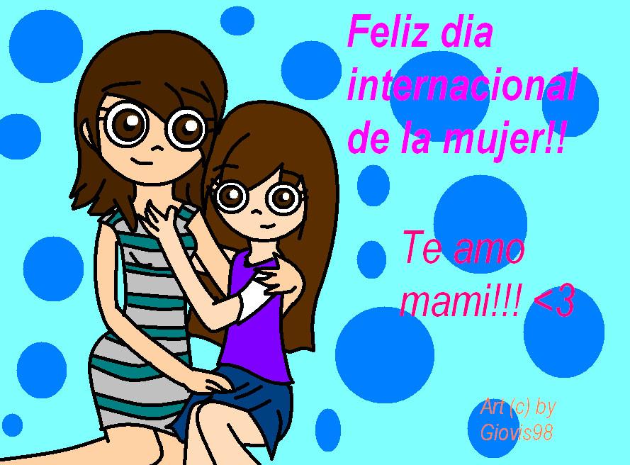 Feliz dia de la Mujer!!!! by giovis98 on DeviantArt