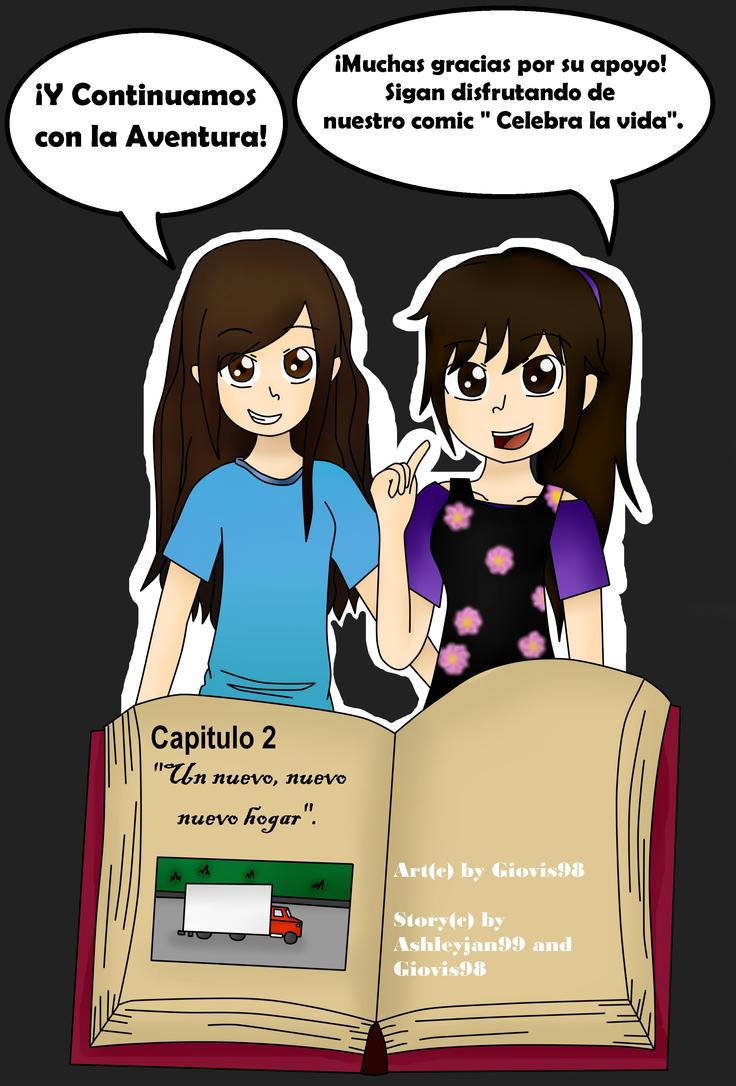 Portada Celebra la vida Capitulo 2 by giovis98