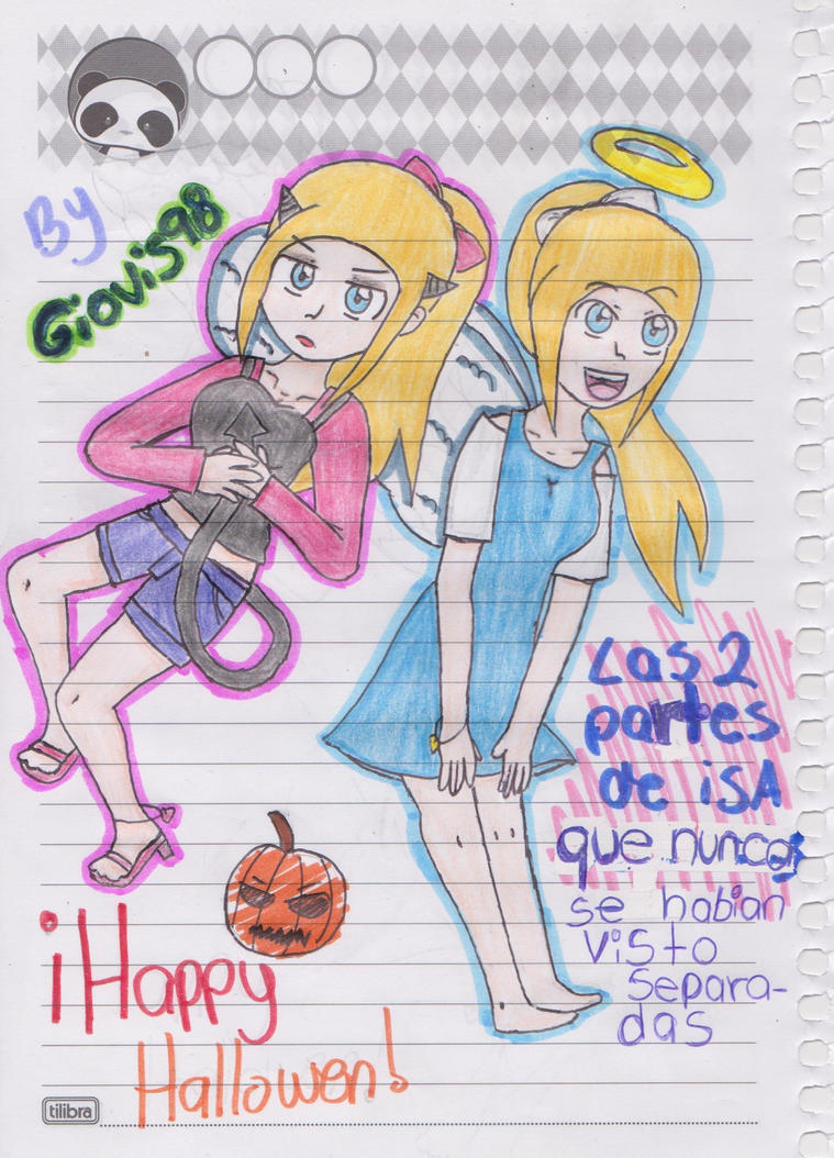 Feliz Halloween *.* by giovis98