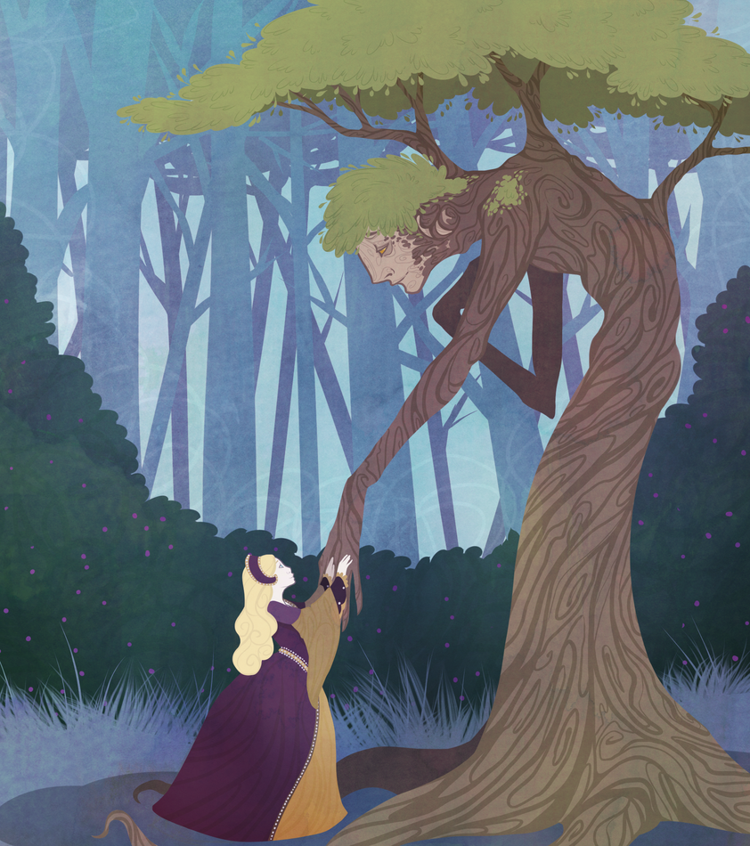 Isabella And The Adonis Of Trees by Northfarthing