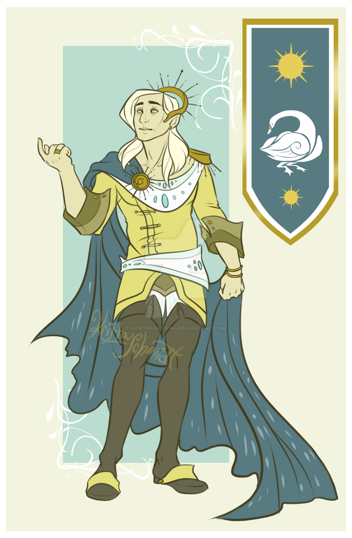 Prince Lior of the Summer Court Lakes by Northfarthing