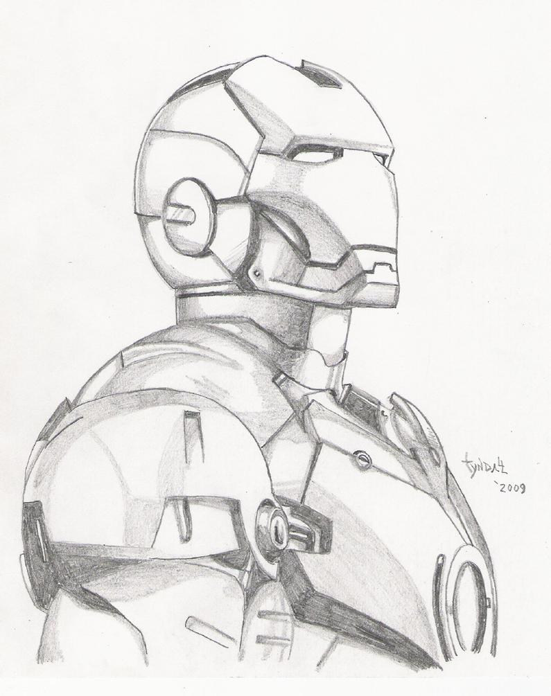Iron Man Sketch By TyndallsQuest On DeviantArt