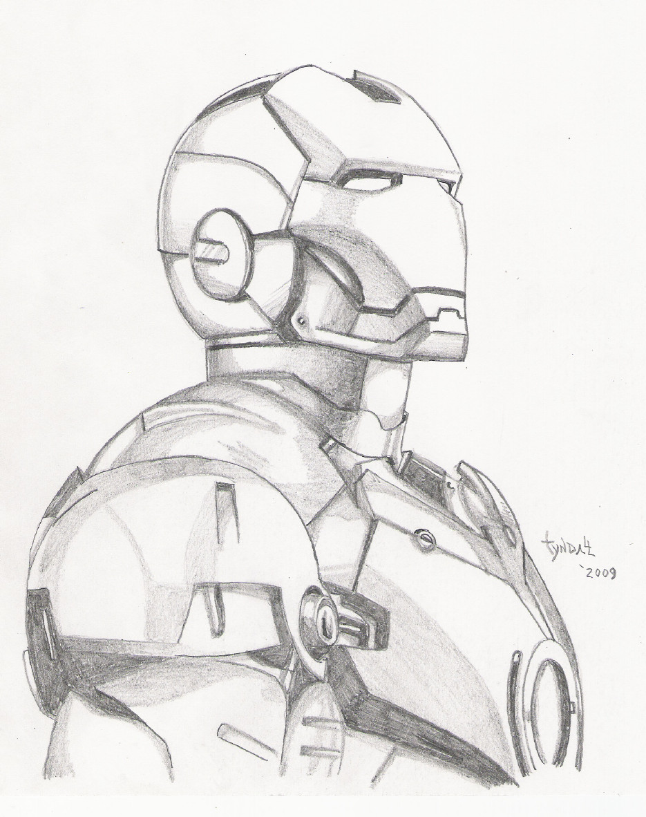 Drawing Smooth Lines In Flash : Iron man sketch by tyndallsquest on deviantart