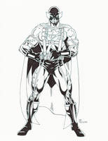 Nightraven Full Costume Ink by TyndallsQuest
