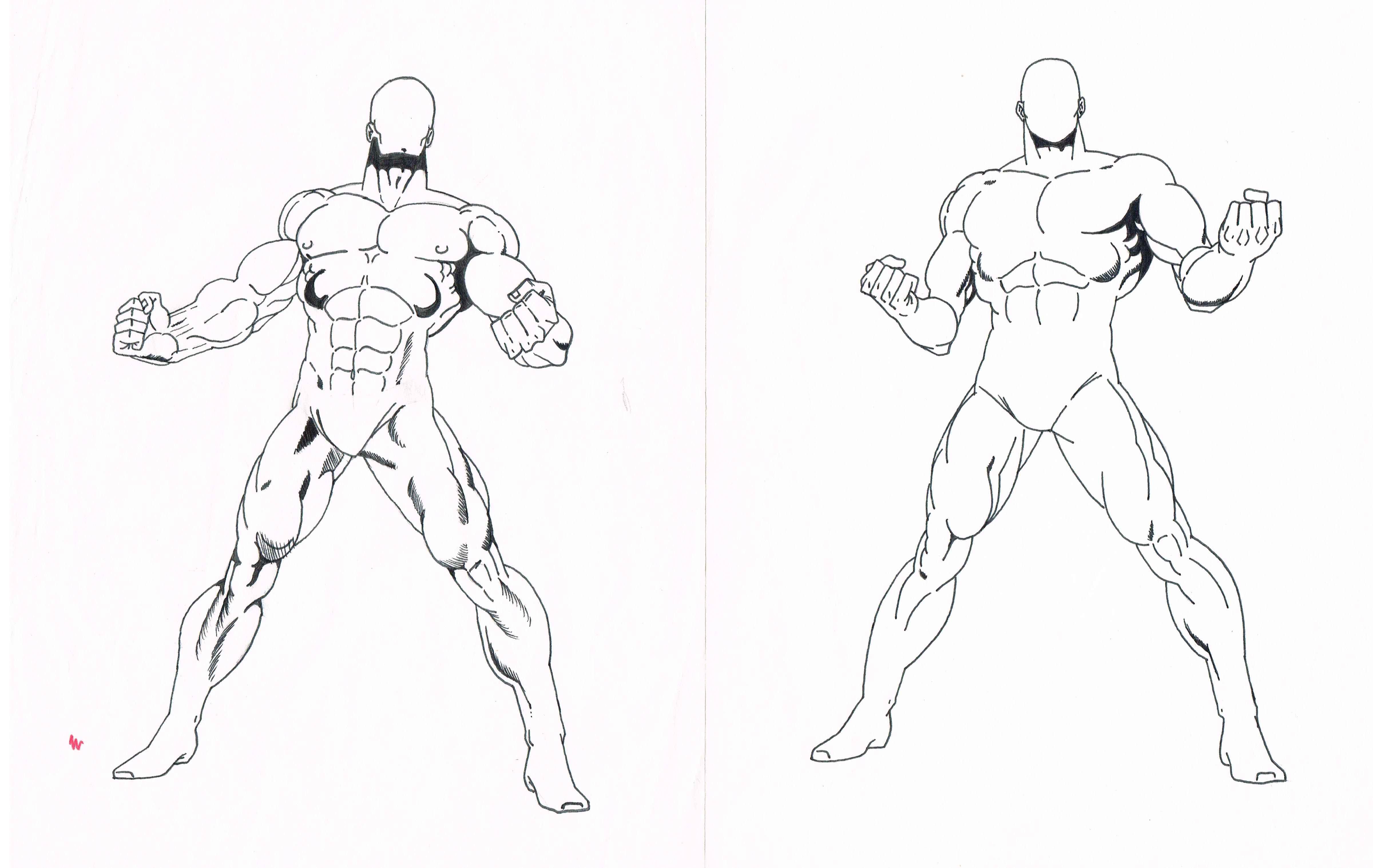 hero poses 1and2 by tyndallsquest on deviantart