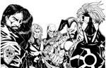 Heroes Reborn II Final Inks