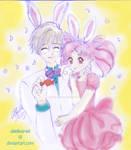 Chibiusa And Yukito by abielleamiel