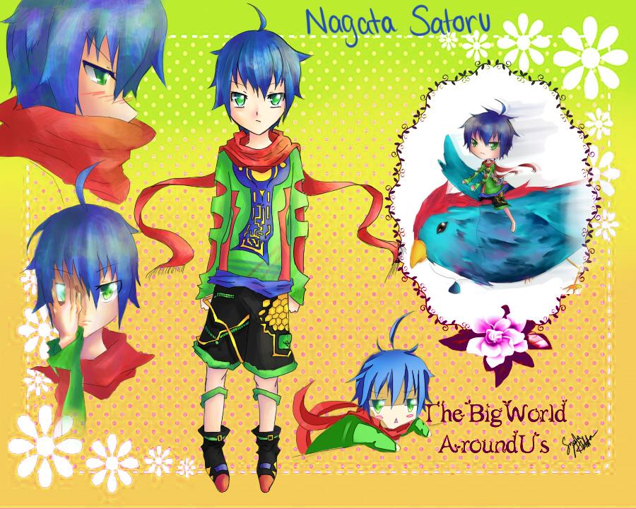 TBWAU: Nagata Satoru by Maho-chi