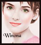 Winona Ryder Colourisation