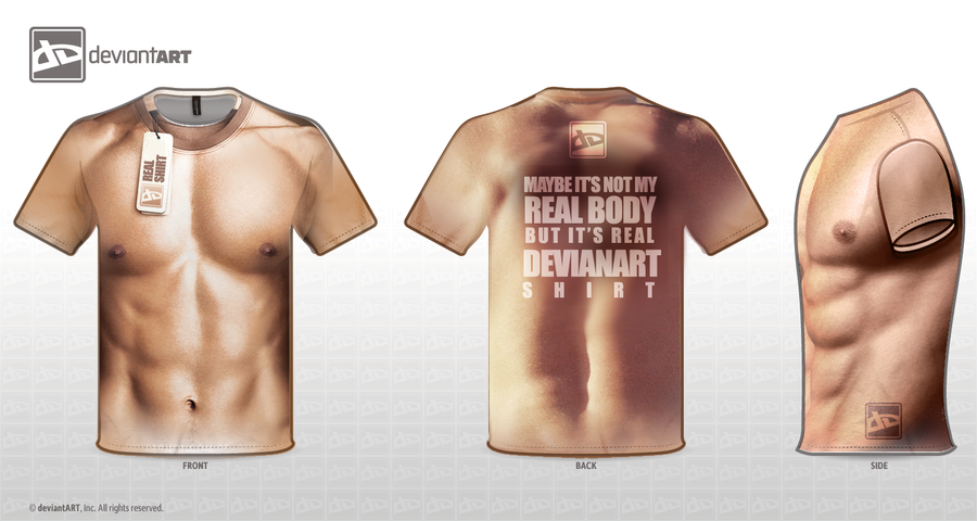 NOT REAL BODY - BUT REAL SHIRT by etaynaaman