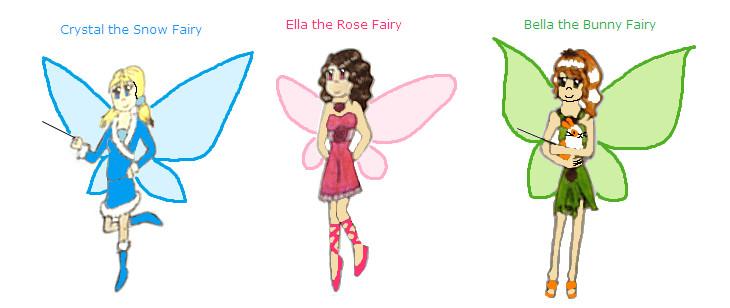 rainbow magic fairies by ponellatoon on deviantart. Black Bedroom Furniture Sets. Home Design Ideas