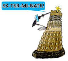 Dalek REVAMP 1 by PonellaToon