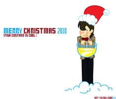 Merry Custardmas 2010 by PonellaToon