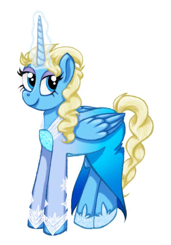 Elsa - Ponified by PonellaToon