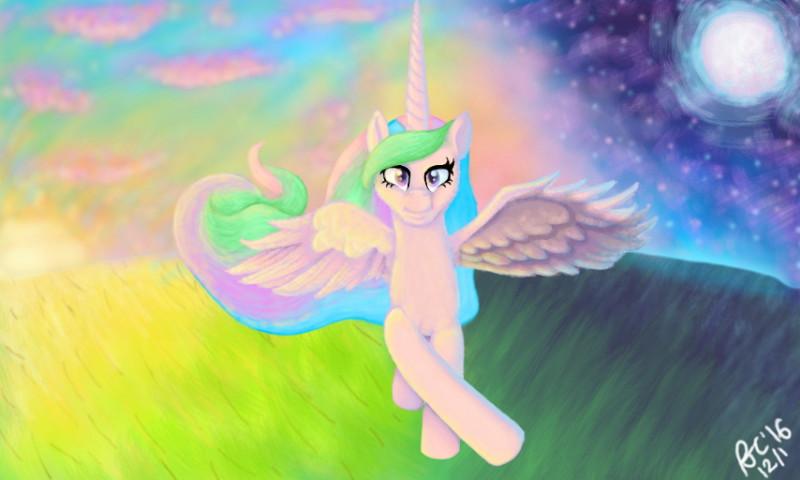 Celestial Flight by PonellaToon