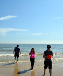 Day at Lowestoft Beach